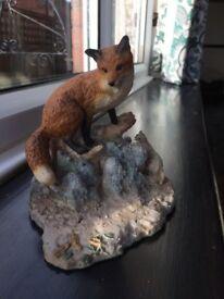 'Border Fine Arts' fox ornament
