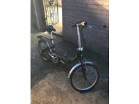 Apollo Contour folding bike like new