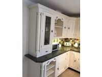 In Frame Country Kitchen, Granit Work Tops