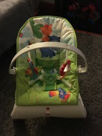 fisherprice bouncer with vibration
