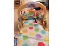 Baby car play mat