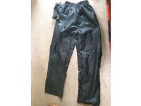 Gelert Packaway Storm Trousers, boys 13yrs