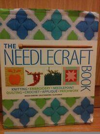 The Needlecraft book. like new