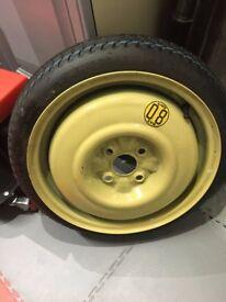 MX5 2002 Spare wheel UNUSED incl original jack