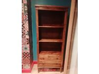 Gorgeous Solid Wood Tall Bookcase