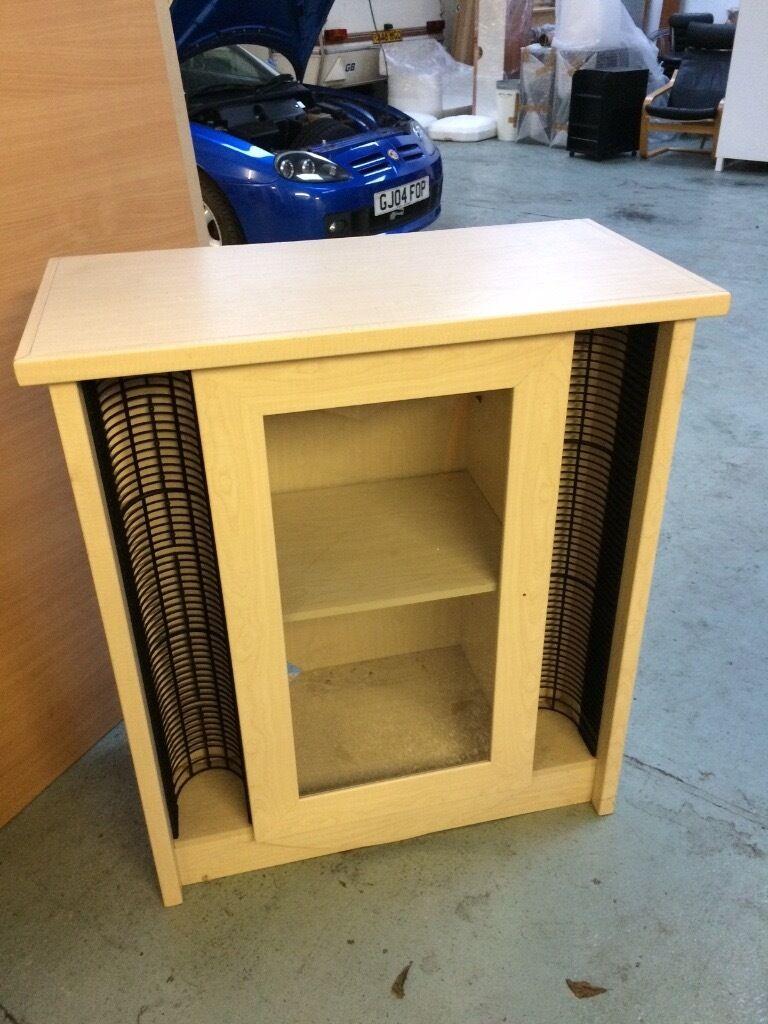 Hifi Unit And Cd Storage Like Ikea In Birch In Birmingham  # Ikea Meuble Hifi