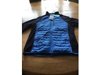 Grasshoppers C65 Hybrid Mens Fleece Jacket / Top - Brand new with tag