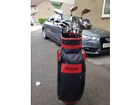 2 complete sets of golf clubs for Sale, bag and woods