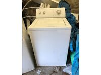 Top loader washing machine. SOLD
