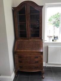 Antique dresser bureau unit
