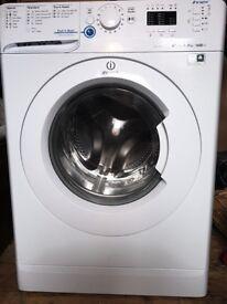 Indesit Innex 8kg 1600 rpm Washing Machine (White) 14 washing modes.