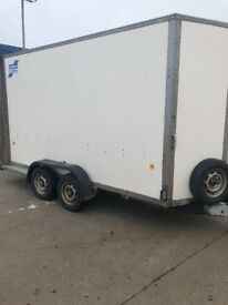 12 x5 x7 box trailer with ramp tailgate