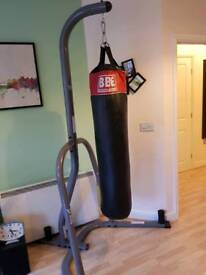 Punch bag and stand