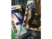 guitar hero xbox 1
