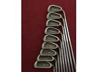 PING Eye 2 Irons -- 3 iron to sand wedge.(9 clubs) Right Handed