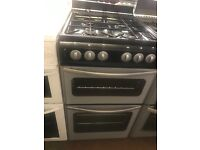 50CM SILVER/BLACK STOVES GAS COOKER