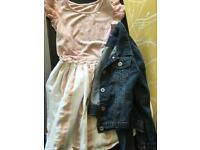 Age 9 - 10 girls mixed bundle of summer clothes