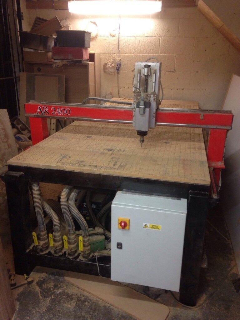 8ftx4ft Cnc Router Ar2400 8x4 Cnc Machine In Ivybridge Devon