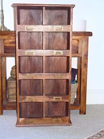 Sheesham Hardwood Storage Cubby from Myakka