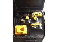DEWALT DC925 XRP 18 Volt 3 Speed Combi-Hammer Drill with Case, Charger and 2 x Battery's