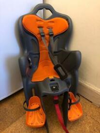 Free child bike seat - slightly broken