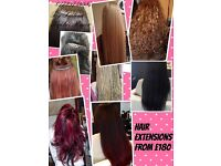 Hair extensions with 100% quality human hair in Belfast city centre