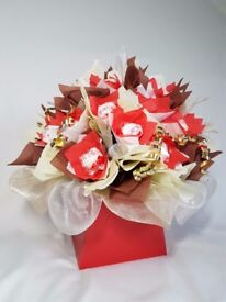 CHOCOLATE BOUQUETS IN BOX