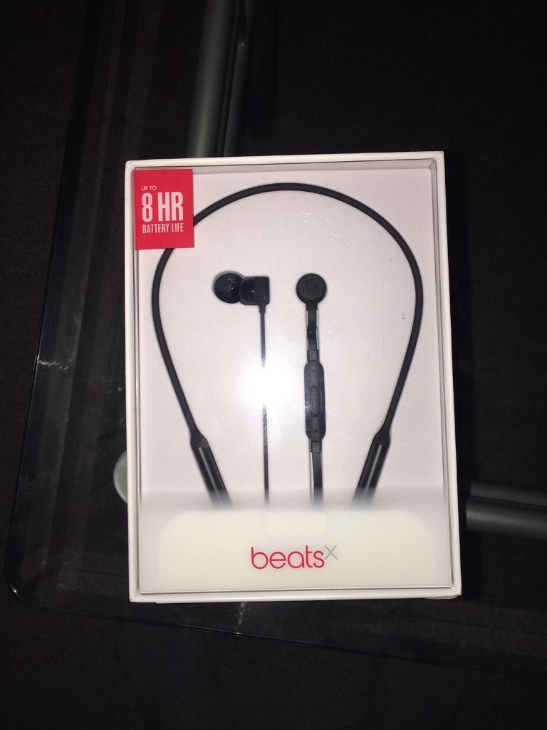 Beats x wireless earbuds