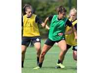 WOMENS SOCCER LONDON. GET PLAYING NOW
