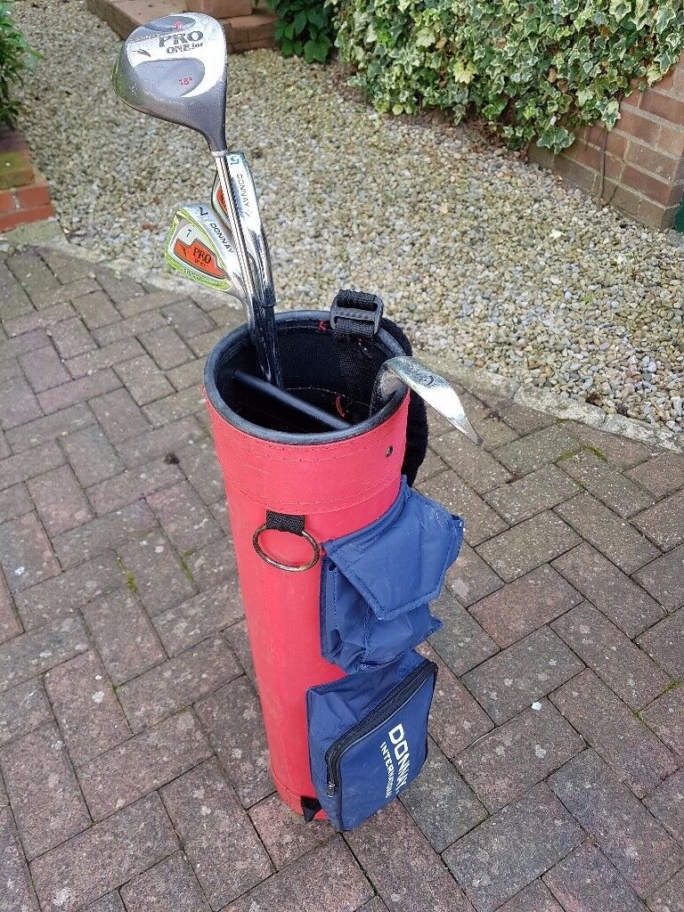 Child's golf club set