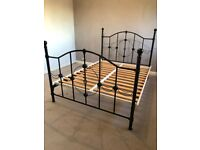 Double mettle bed