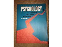 Psychology 5th edition textbook.