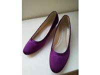 Purple rainbow club bridesmaid shoes