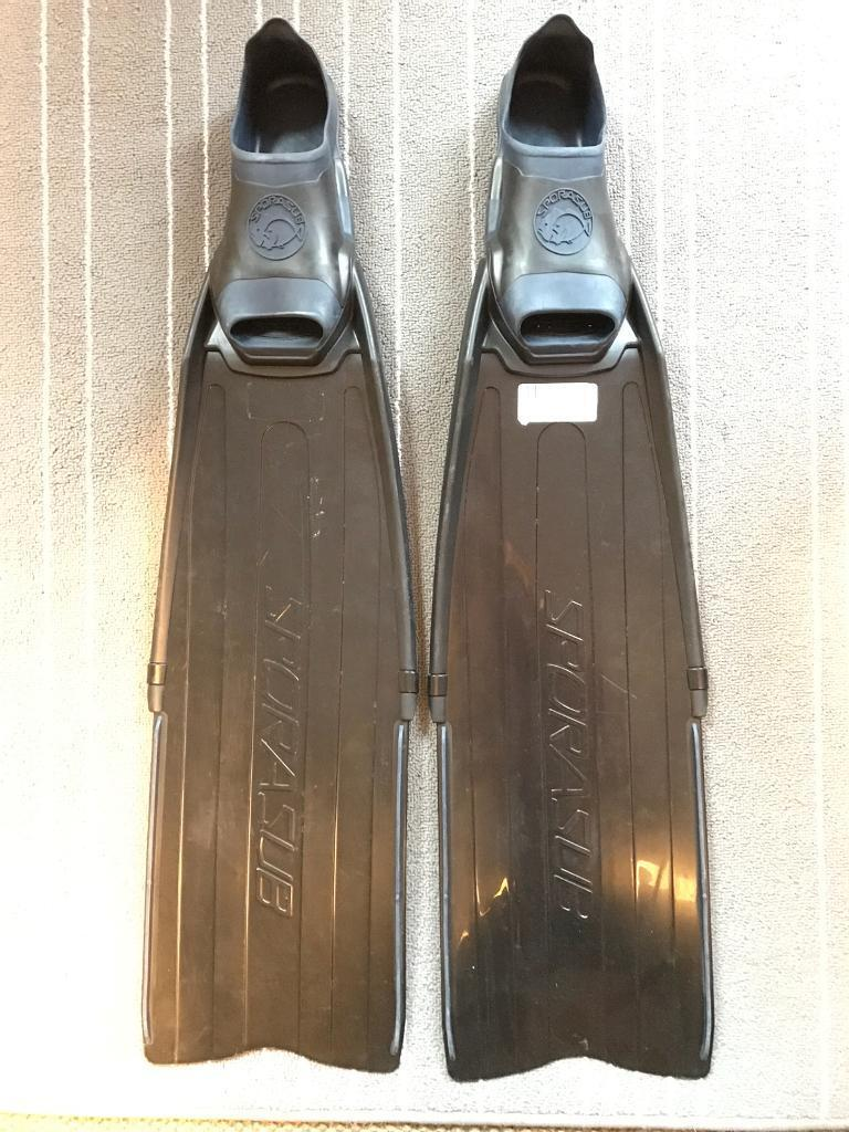 Diving fins - Sporasub Spitfire UK 4, EU 37-38
