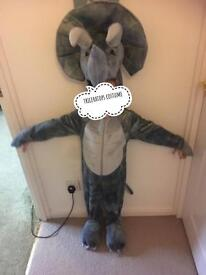 Kids Dinosaur costume ( Triceratops) 3-4 y
