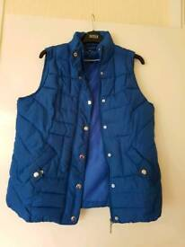 Blue gillet size 14 immaculate condition