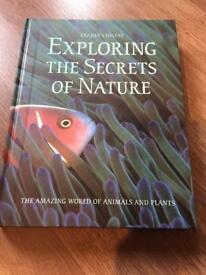Hardback book ( exploring nature