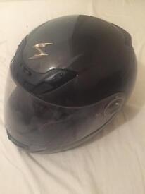 For sale dark grey motorcycle helmet