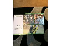 New and sealed Xbox s with Fifa 17 grand theft auto 5 and Gears 4