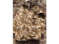 2 Brand new smock combat windproof desert jackets size 180/96.