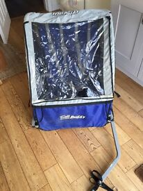 Halfords Trail Buggy - 2 seater bike trailer