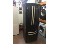 HOTPOINT FRIDGE FREEZER QUADRIO BLACK RECONDITIONED