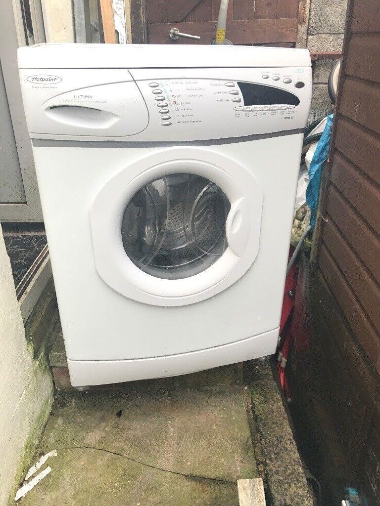 Hot point ultima washing machine
