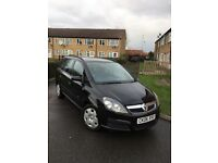 Cheap Vauxhall zafira 7 seater , long mot , full service history