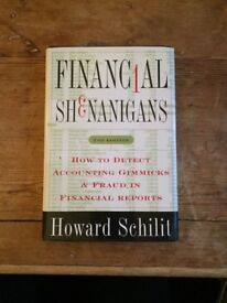 Financial Shenanigans How to Detect Accounting Gimmicks & Fraud in Financial Reports -Howard Schilit