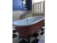 Victorian bathroom set