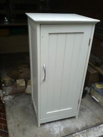 BATHROOM CABINET SHELVES STORAGE UNIT AND TV STAND AND DRAW IN PIC 2