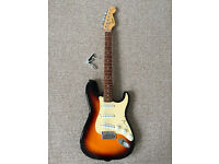 2nd Hand Squire Electric guitar and case