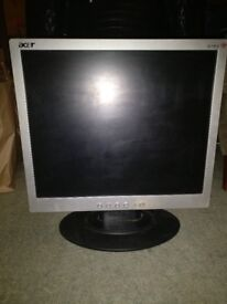 Acer AL1912 19in lcd tft computer monitor screen