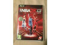 NBA 2K13 (PS3) and NBA 2K13 (PC) Games